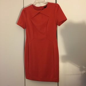 Banana Republic Twist Detail Dress w/back zip